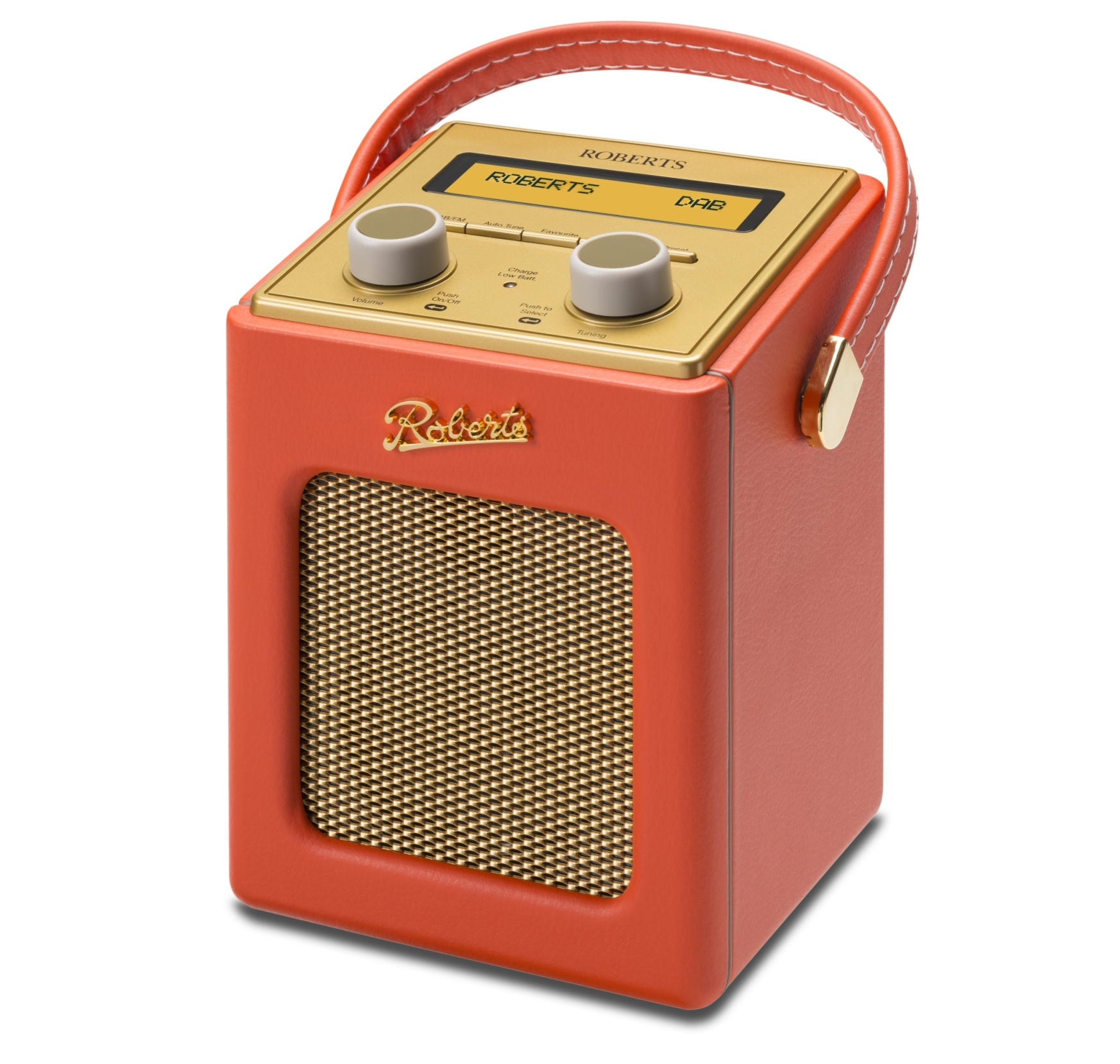 Roberts Radio Revival Mini DAB+ Radio Orange (130-313004)