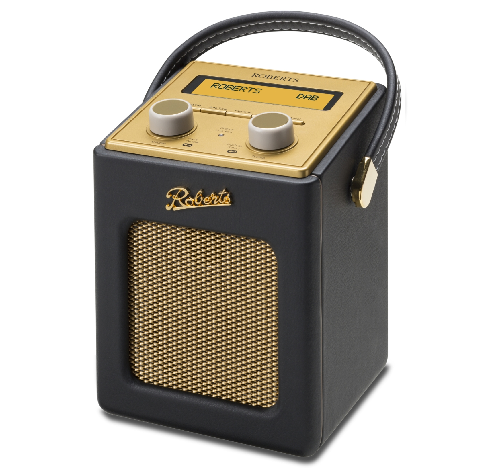 Roberts Radio Revival Mini DAB+ Radio Black (130-313003)
