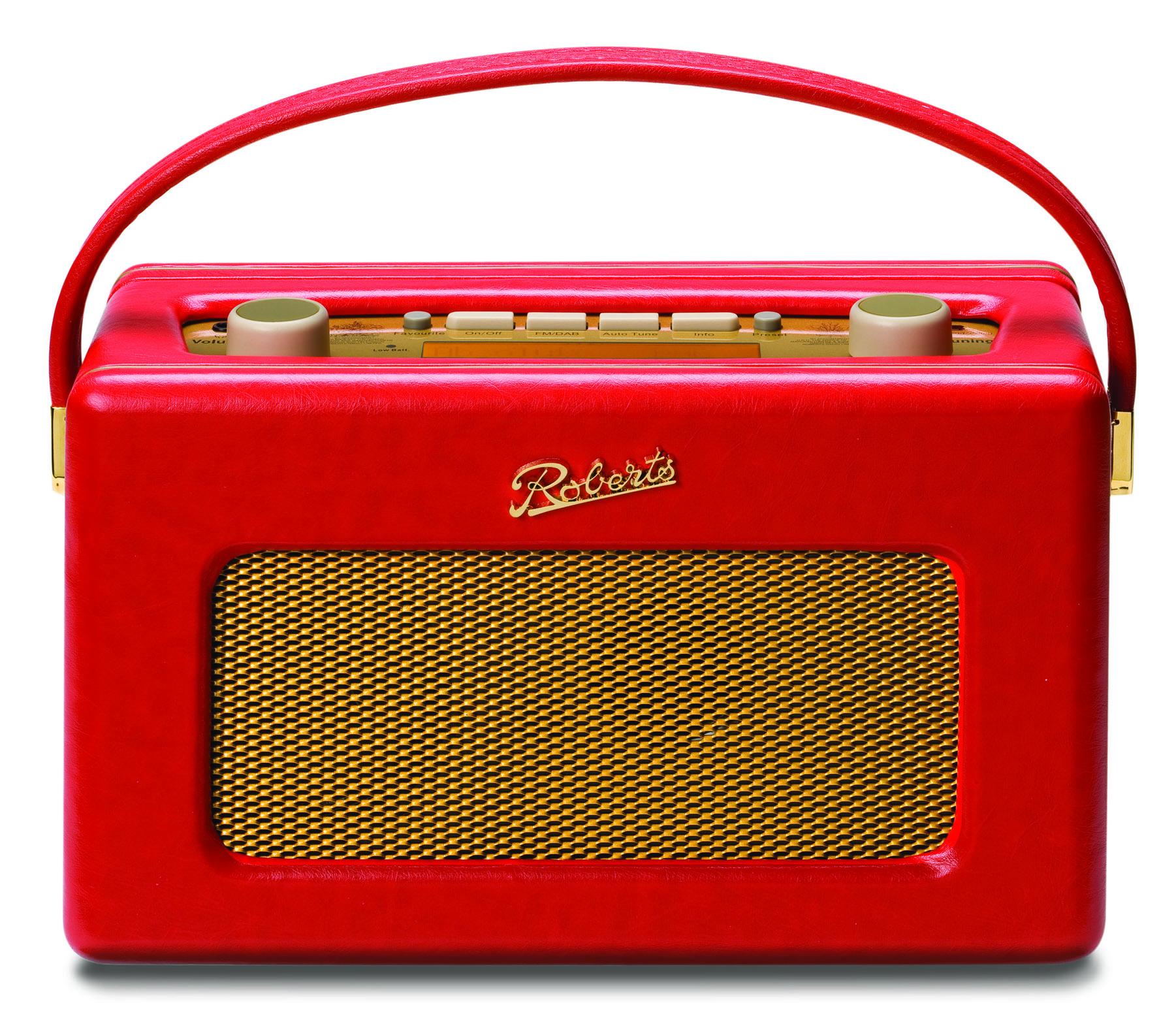 Roberts Radio Revival RD60 FM/ DAB/ DAB+ Red (130-313012)