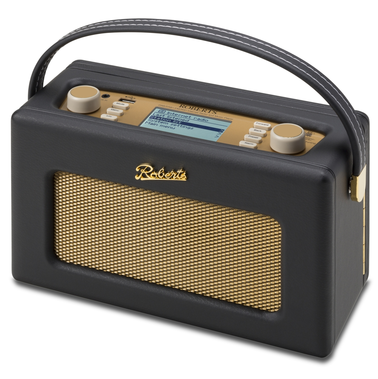 Roberts Radio Revival iStream2 Retro Internettradio FM/DAB/DAB+ Black (130-315003)