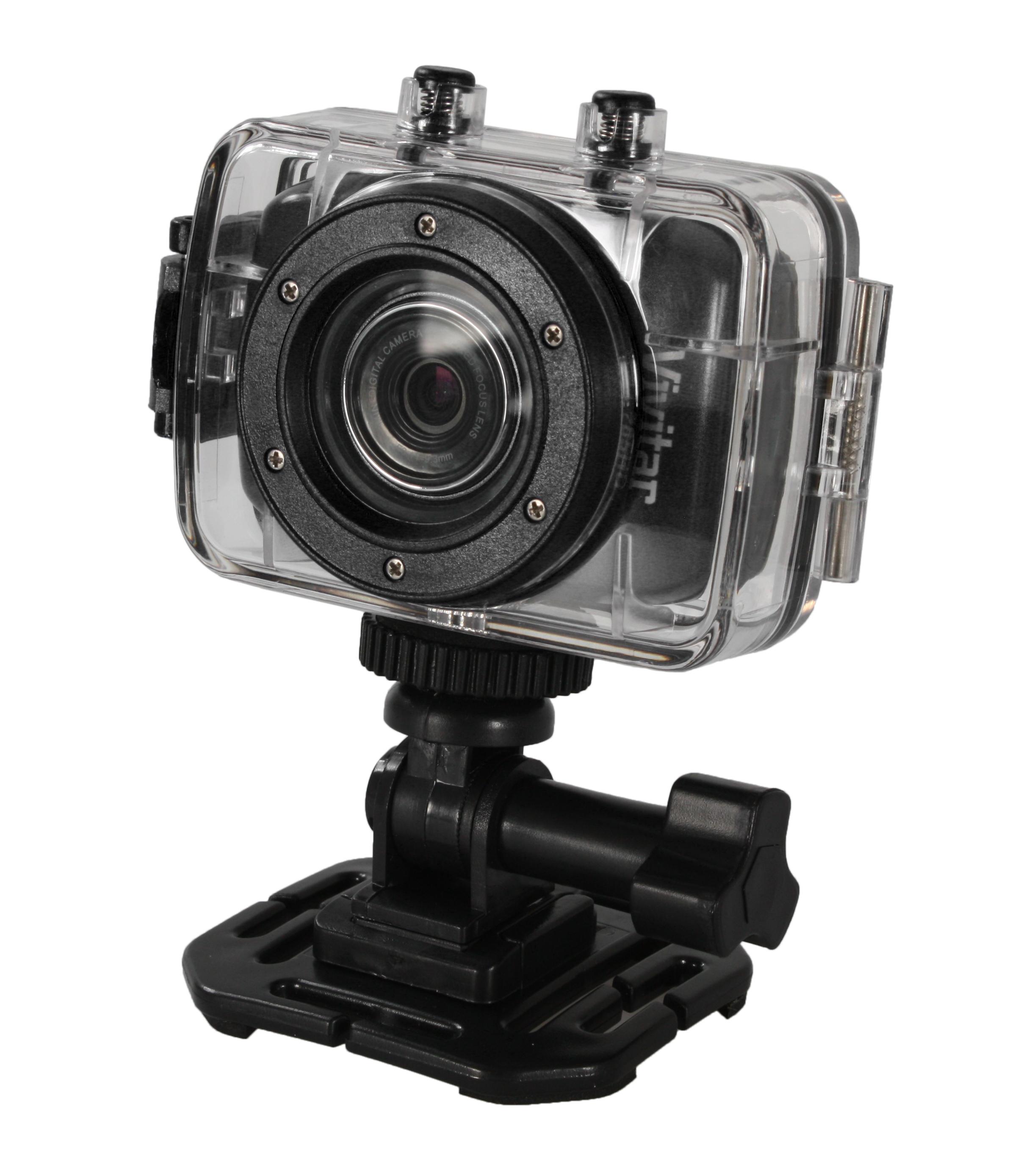Vivitar DVR 783HD Actionkamera 720p Med vanntett hus, 5.1MP, 1.8