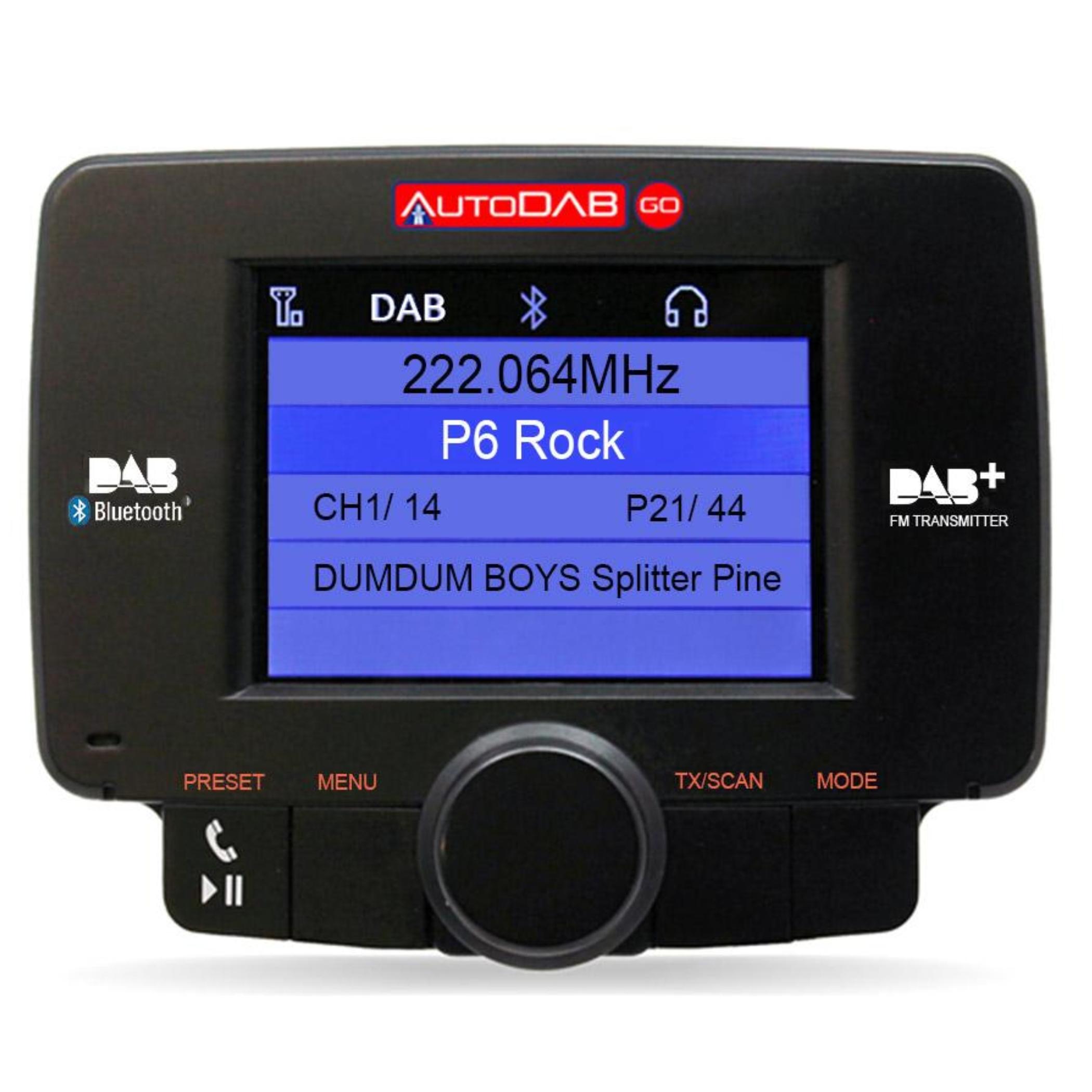 AutoDAB GO DAB-adapter bil (321611-)