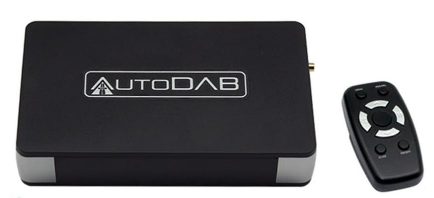 AutoDAB FM DAB-adapter til bil (321614-)